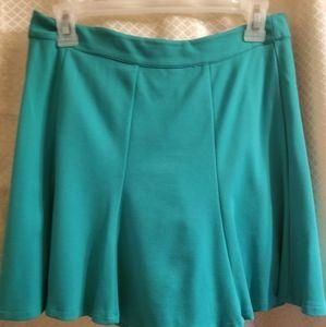 Forever 21, Green skirt, stretchy